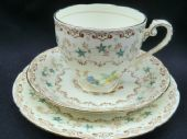 Late Deco GRAFTON tea trio - Imperial